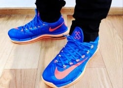 "Nike KD 6 Elite ""OKC"" – On-Feet Look"