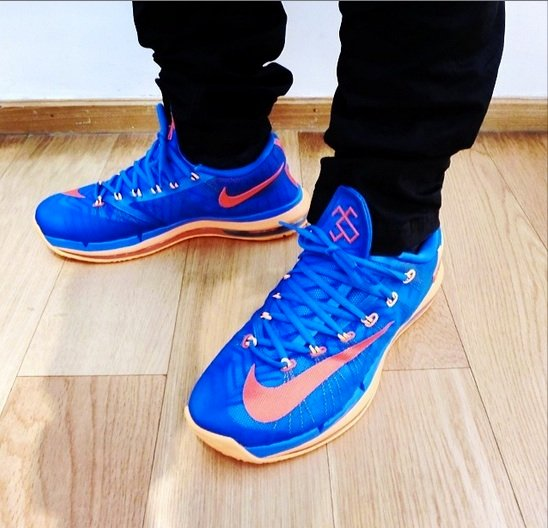 Nike KD 6 Elite OKC On-Feet Look