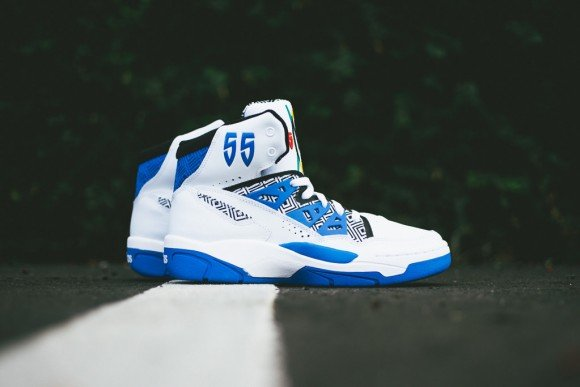 adidas Mutombo Running White Blue