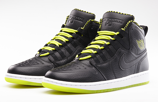 Air Jordan 1 94 Black Venom Green Black Official Images