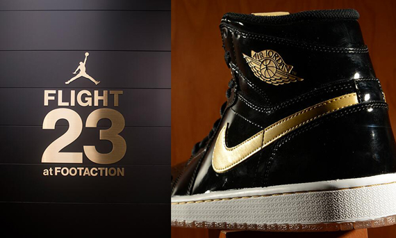 Air Jordan 1 Retro High OG Black/Gold Restock at Flight 23 NYC
