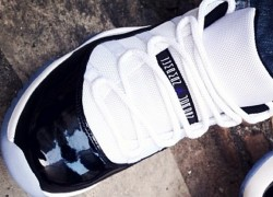 "Air Jordan 11 Low ""Concord"" – On-foot Look"