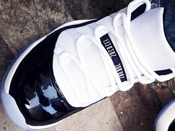 Air Jordan 11 Low Concord On-foot Look