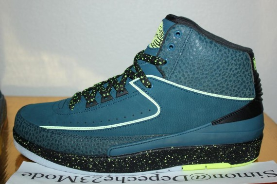 Air Jordan 2 Night Shade Sample