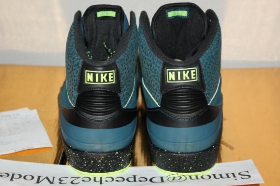 Air Jordan 2 Night Shade Sample