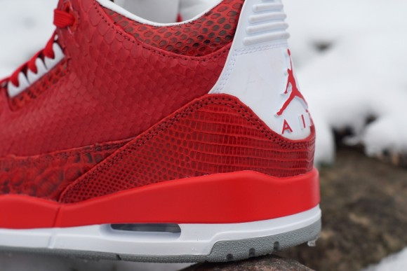 Air Jordan 3 Valentines by JBF Customs