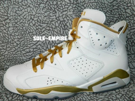 Air Jordan 6 Golden Moments Alternate Sample