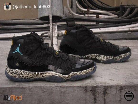 air-jordan-xi-11-laser-glow-gamma-customs-by-alberto-lou