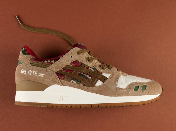 Asics Gel Lyte III Aztec Now Available