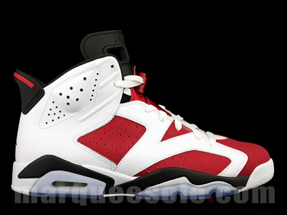 Air Jordan 6 Carmine Retro Epic Look