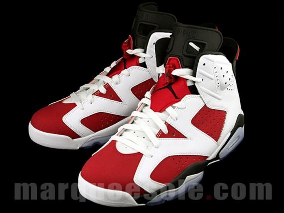 Air Jordan 6 Carmine Retro Epic Look