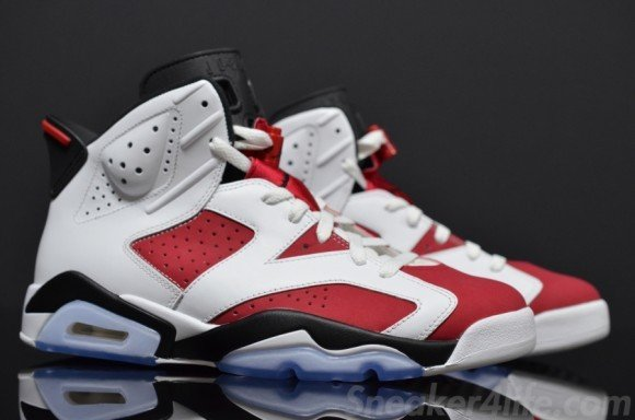 Air Jordan VI Carmine Yet Another Detailed Look