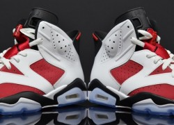 "Air Jordan VI ""Carmine"" – Yet Another Detailed Look"
