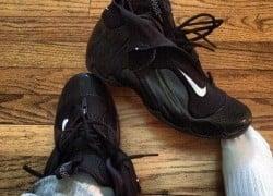 Celebrity Sneaker Watch: DJ Envy Shows Us His 'Carbon Fiber' Flightposites