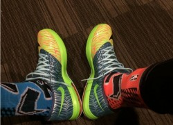 Celebrity Sneaker Watch: Kevin Durant Brings Outs Nike KD VI (6) 'Liger'