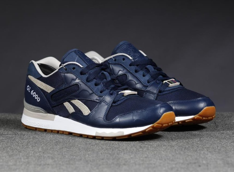the distinct life x reebok gl 6000 new images sneakerfiles. Black Bedroom Furniture Sets. Home Design Ideas