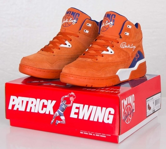 "Ewing Guard ""Orange Suede"" - Now Available  262f03b00"