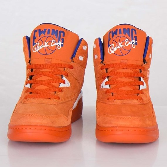 Ewing Guard Orange Suede Now Available