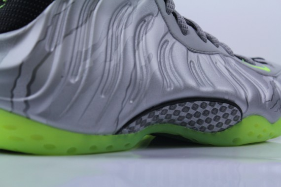 Nike Air Foamposite One Metallic Silver Volt Another Look