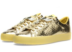 Jeremy Scott x adidas Originals Rod Laver 'Metallic Gold'