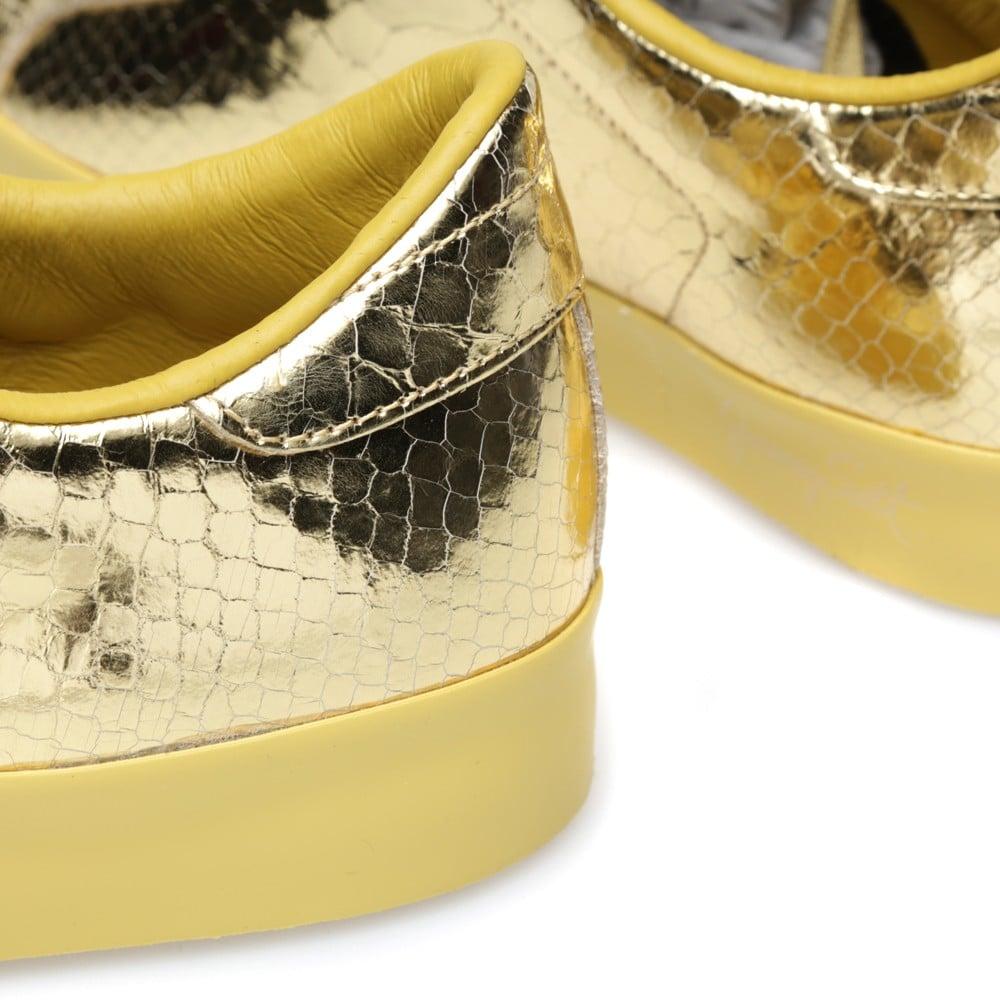 15f7e21b5860 Jeremy Scott x adidas Originals Rod Laver  Metallic Gold