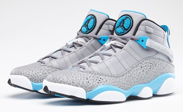 Jordan 6 Rings Wolf Grey/Black-Cool Grey-Dark Powder Blue | Official Images