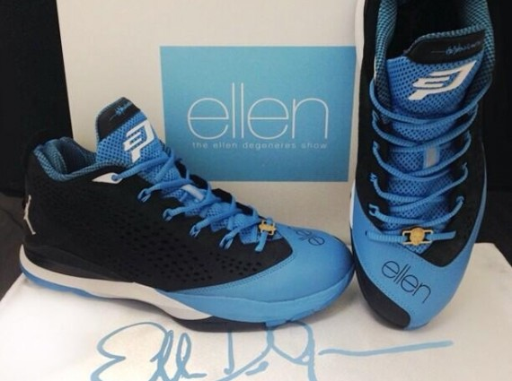 Ellen DeGeneres Gives Chris Paul A Custom Pair Of Jordan CP3.VIIs ... 80c922258