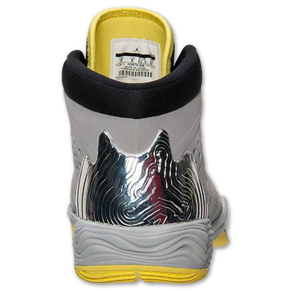 Jordan Melo M10 Metallic Silver Black Volt