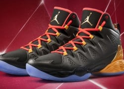 Jordan Melo M10 'Sequoia/Metallic Gold-Infrared 23-Atomic Mango' | Official Images