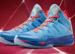 Jordan Super.Fly 2 'Dark Powder Blue/Metallic Gold-Infrared 23′ | Official Images