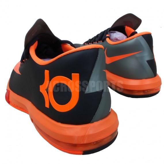 black and orange kd 6