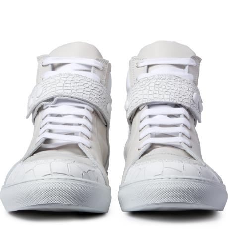 krisvanassache-white-press-button-strap-sneakers