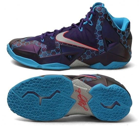 """ee29e1d83ba4e Nike LeBron 11 """"Hornets"""" – Release Date"""