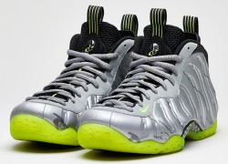 Nike Air Foamposite One 'Metallic Silver/Volt-Black-Metallic Cool Grey' | Official Images
