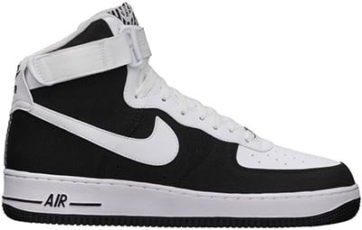 new arrival 12843 d8550 Nike Air Force 1 High 'Black/White' | Release Date + Info ...