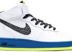 Nike Air Force 1 Mid 'White/Black-Green Abyss-Volt' | Release Date + Info