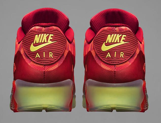 7755b22f5c Nike Air Max 90 Ice 'Gym Red/University Red-Light Crimson ...