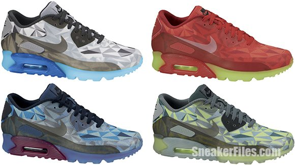 nike air max 90 ice atomic