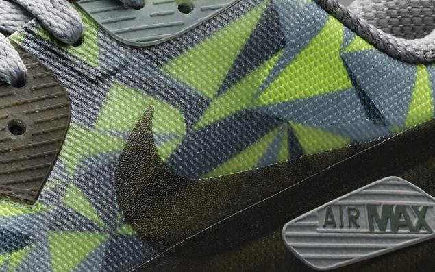 Nike Air Max 90 Isblå Grønne Gule Øyne AgDbgI