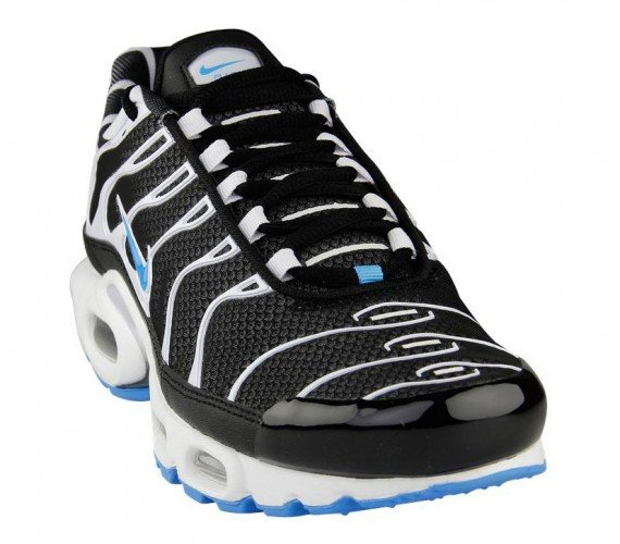 Nike Air Max Plus Black White Vivid Blue