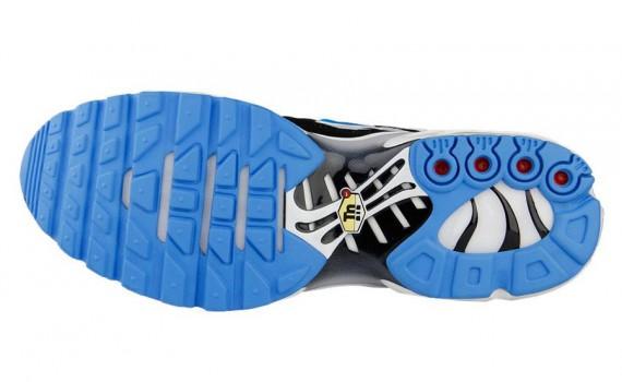 Nike Air Max Plus Black White Vivid Blue