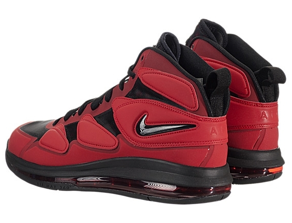 cdbfb8ce89c7 Nike Air Max SQ Uptempo Zoom  University Red Black-Anthracite ...