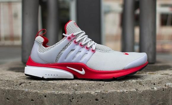 Nike Air Presto Grey Red