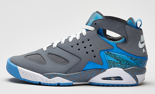 durable service Nike Air Tech Challenge Huarache Cool Grey University Blue  WhiteOfficial Image