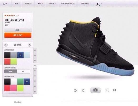 Nike Air Yeezy 2 Nike iD Rumor- Update