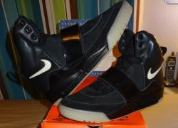 Nike Air Yeezy 'Black/Black' Sample on eBay