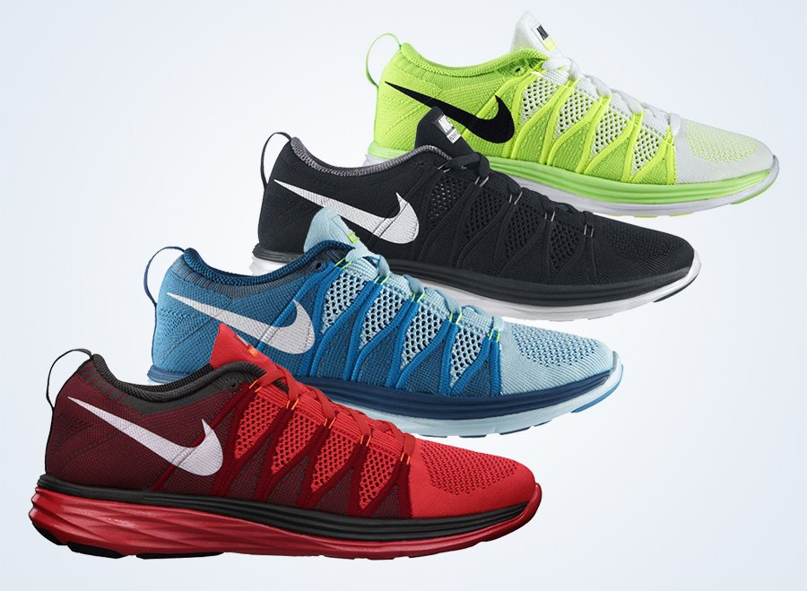 db4e3adbeb005 Available for purchase right now courtesy of NikeStore are 12 different  looks for the brand new Nike Flyknit Lunar2. Serving as Nike s newest  creation