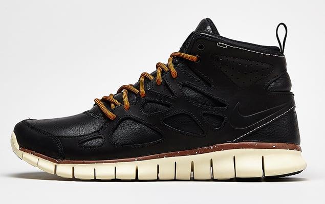 Nike Free Run Sneakerboot Leather