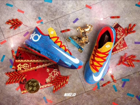 NIKEiD KD 6 Year of the Horse