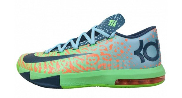 newest 7ff97 1618f Nike KD VI (6)  Electric Green Night Factor-Atomic Orange    Available  Early on eBay